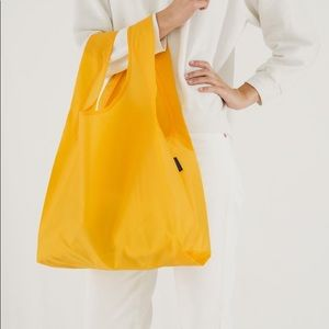 BAGGU STANDARD REUSABLE BAG YOLK YELLOW NWT
